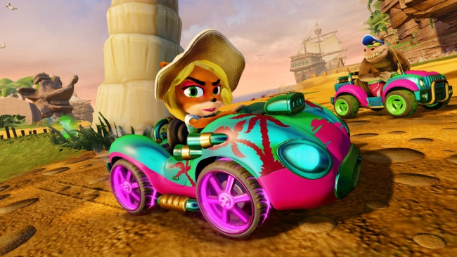Crash Team Racing Nitro-Fueled Reigns Supreme on UK Sales Charts Once Again