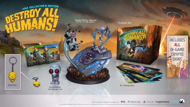 destroy all humans collectors editions
