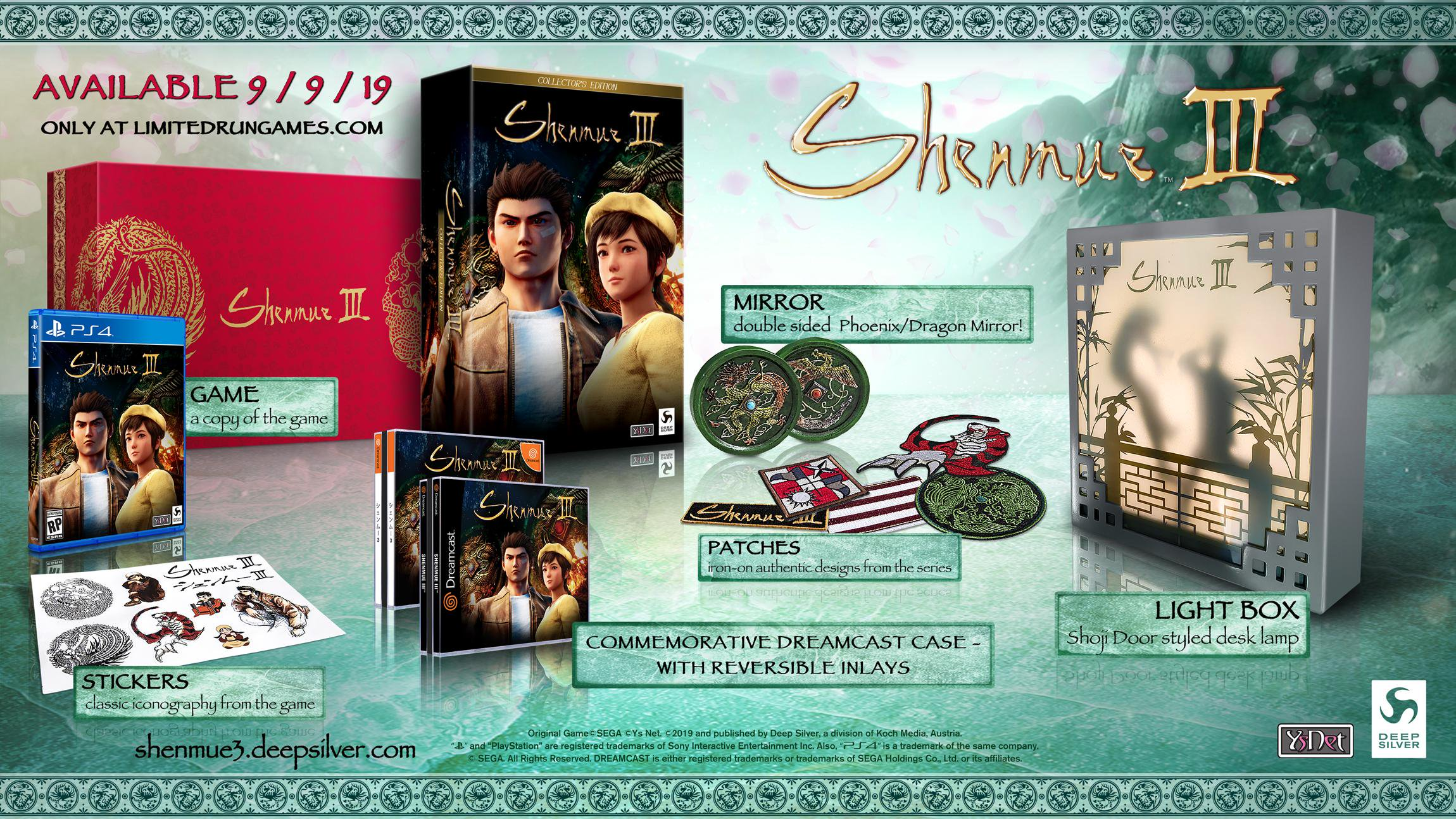 Shenmue 3 Collectors Edition