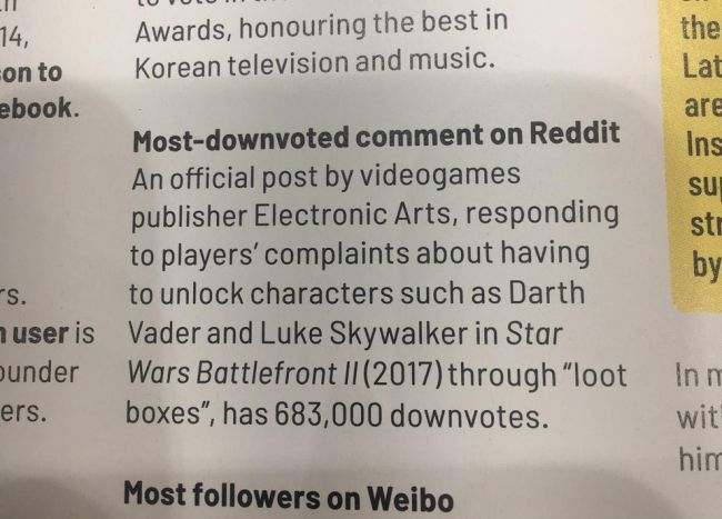 Star Wars Battlefront II Lands in the Guinness Book of World