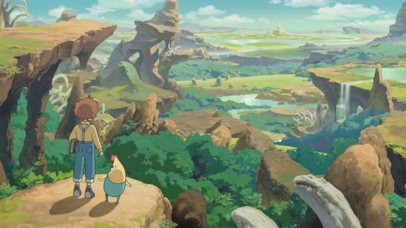 ni no kuni wrath of the white witch remastered review feature