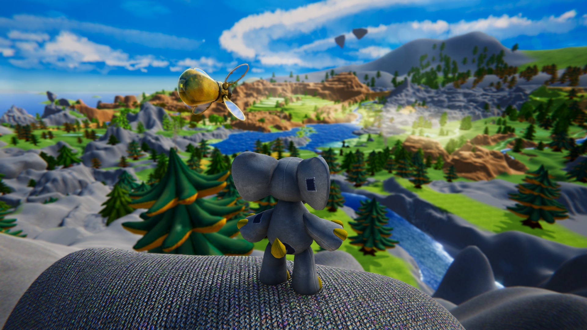 Adorable Knitted Adventure Game Woven Launching on November 15th