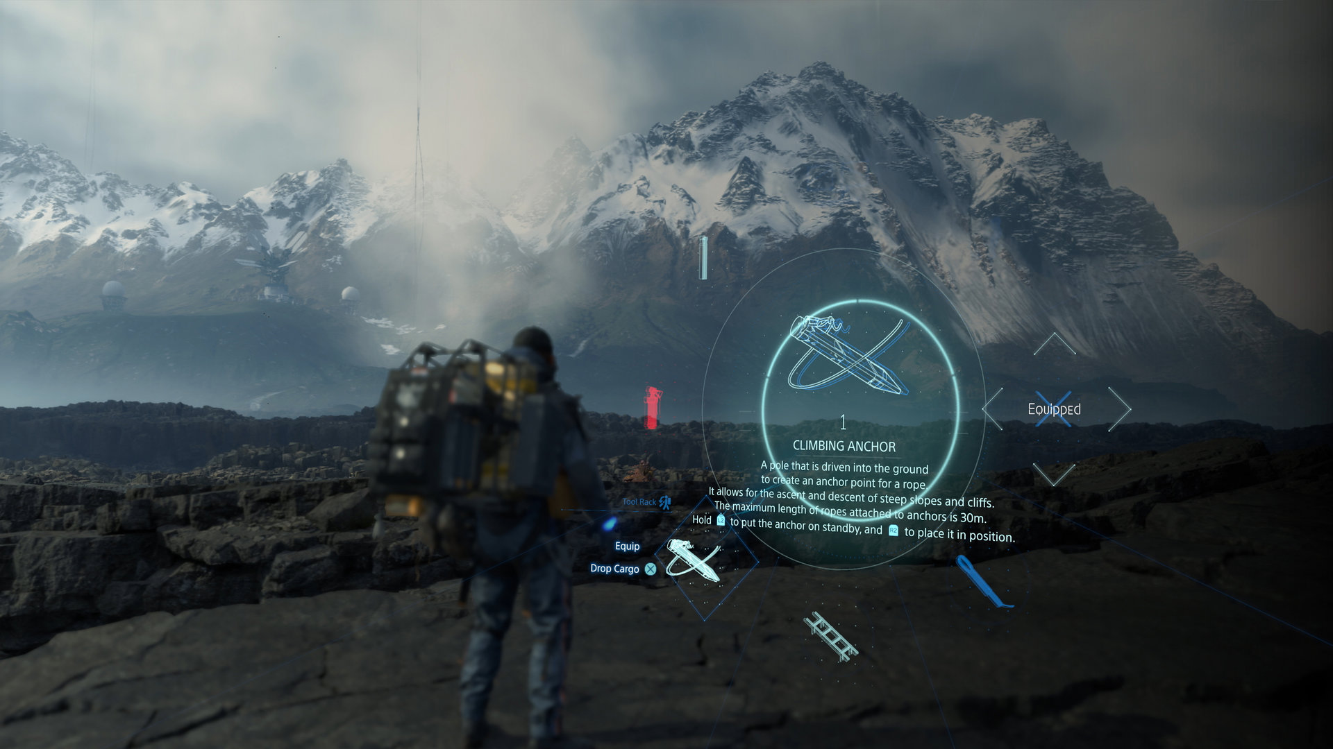 Death Stranding Install Size and Optional Multiplayer Detailed