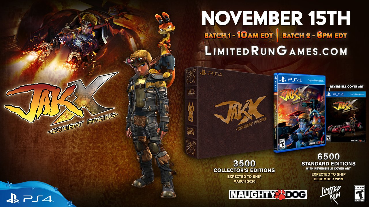 Jak X Combat Racing Physical PS4