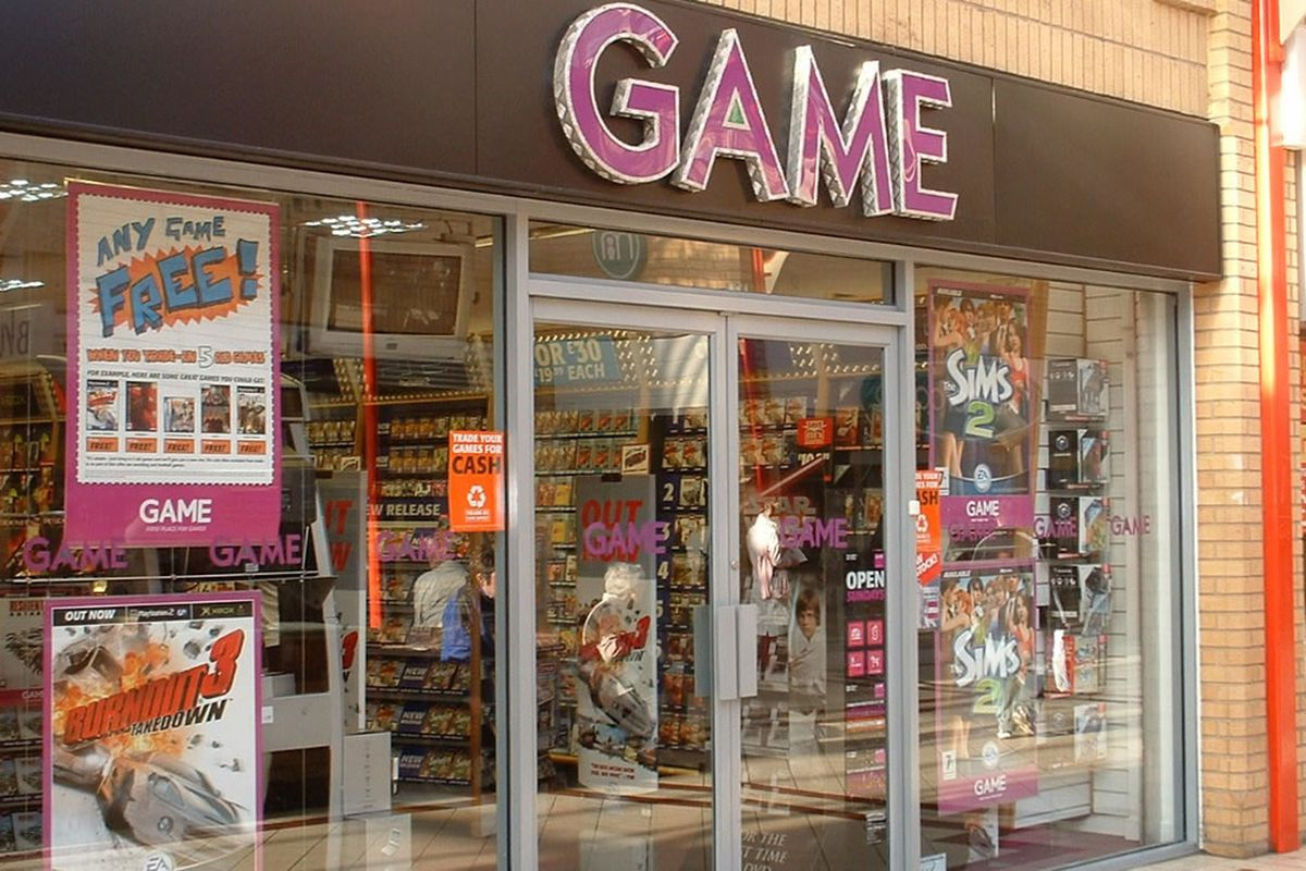 GAME to close 40 UK stores in