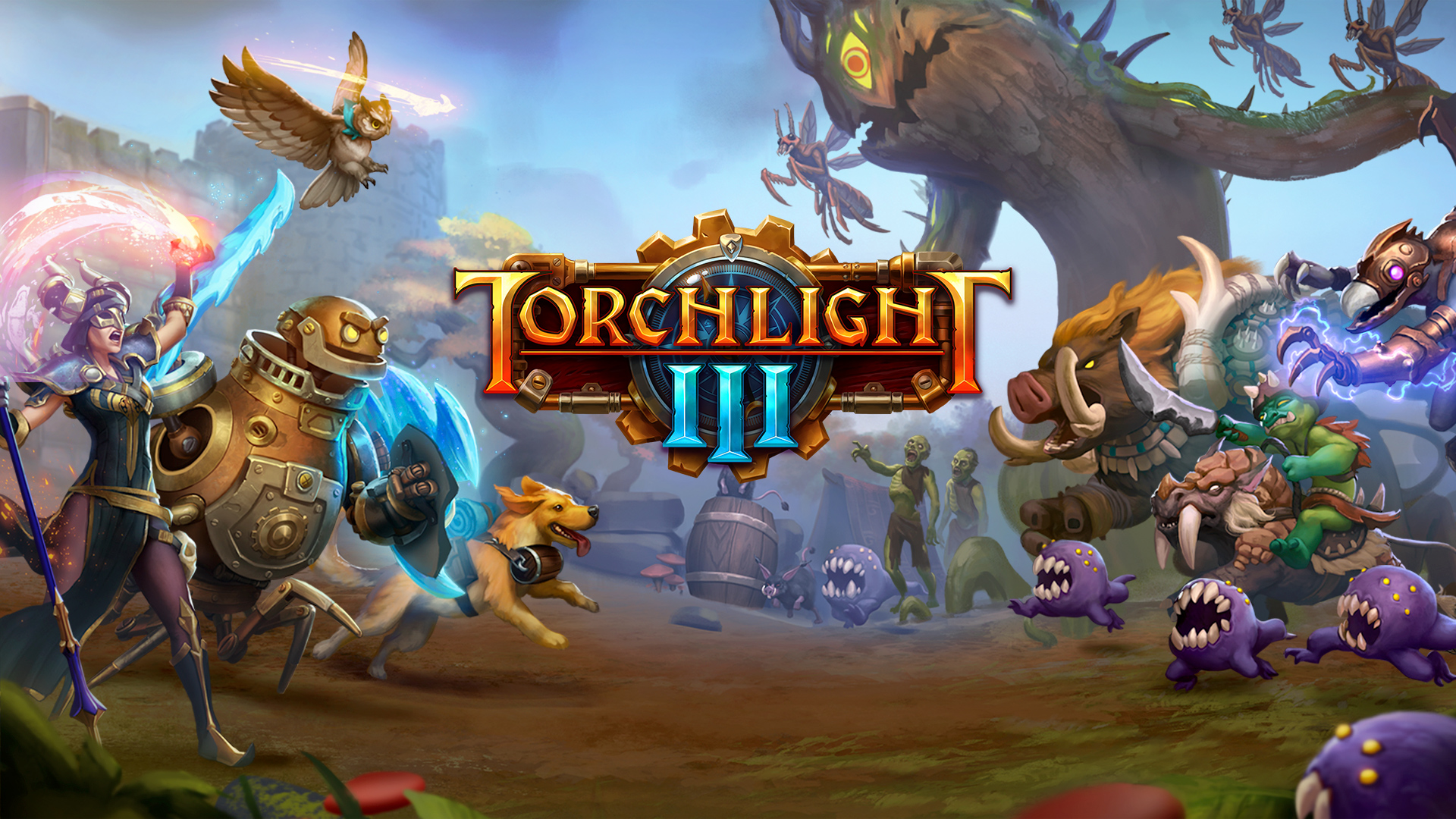 Torchlight 3 announced