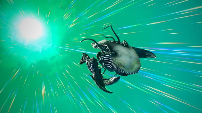 Weird bio-ships abound in No Man's Sky's latest update