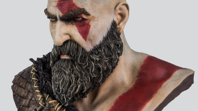 God of War Marks Second Anniversary with New Merch and Life-Size Bust