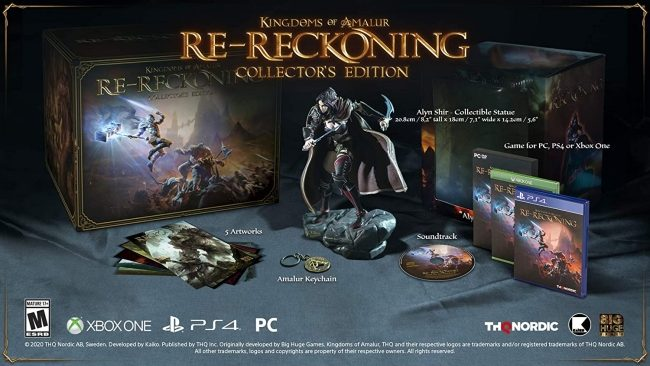 Preorders Are Live for the Collector's Edition of Kingdoms of Amalur: Re-Reckoning