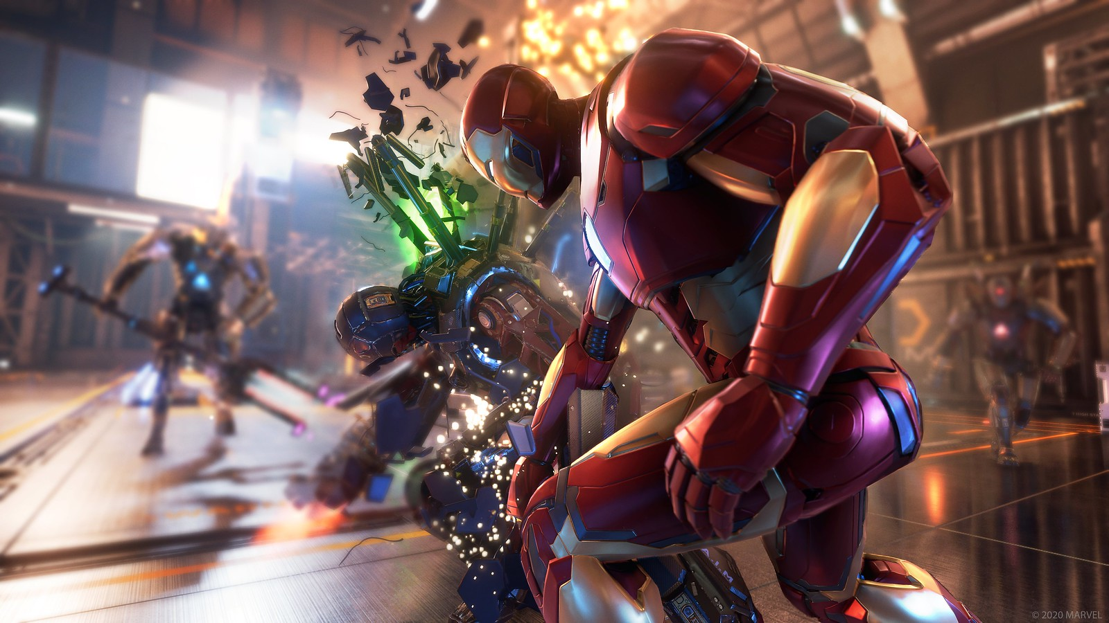Square Enix will reveal more details about Marvel's Avengers on July 29th