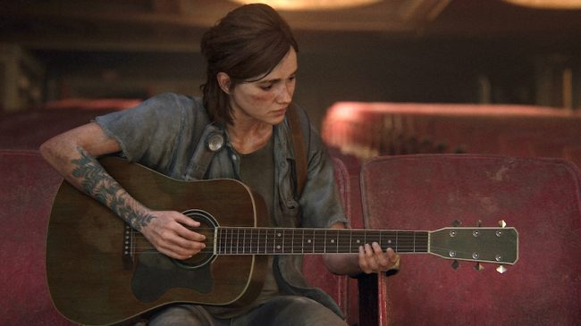 the last of us part 2 guitar
