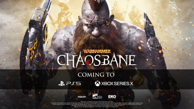 Warhammer Chaosbane PS5 and Xbox Series X Versions Confirmed