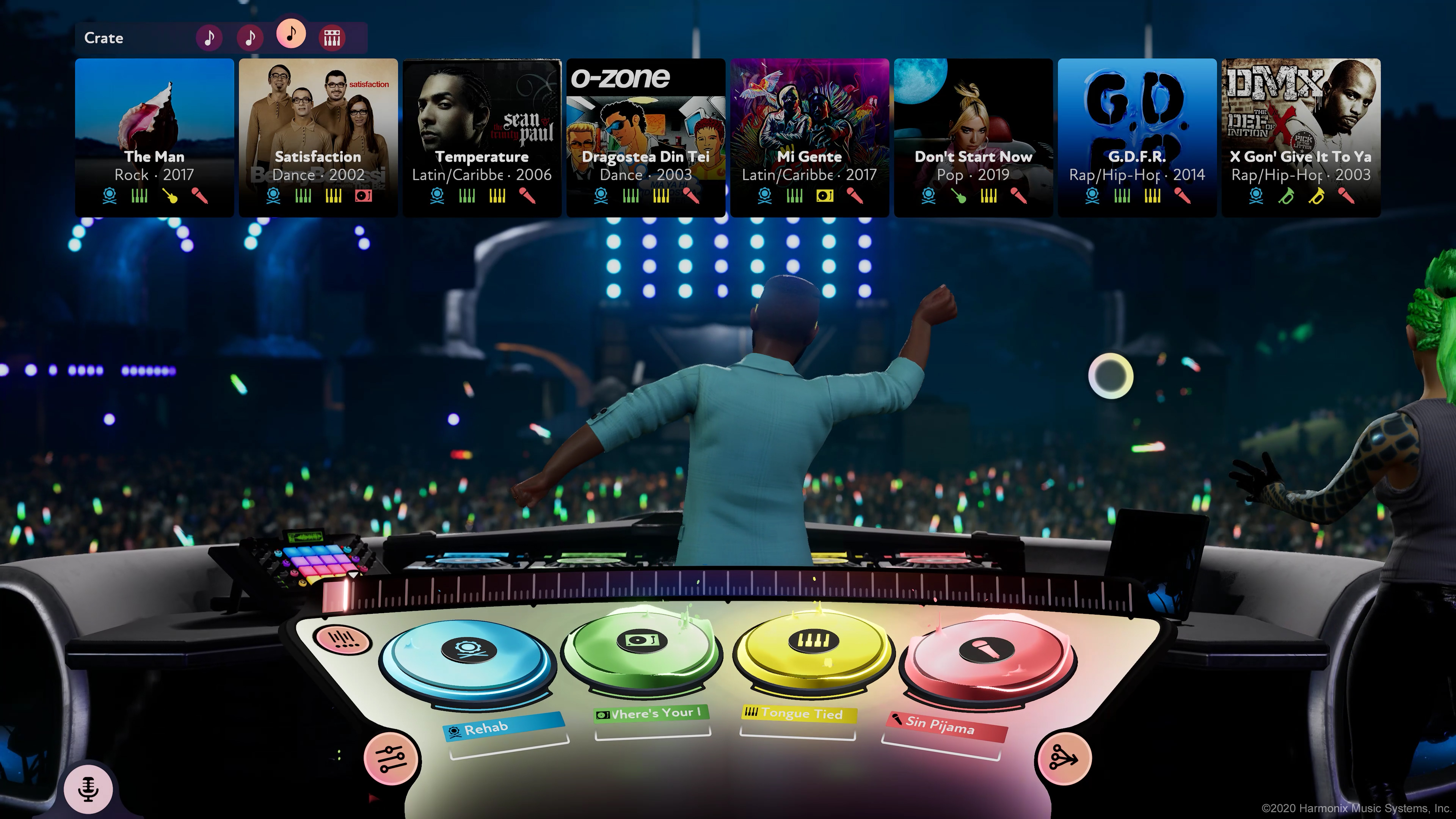 Fuser preview hands on harmonix music game 1