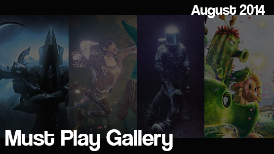August 2014 Must-Play Gallery