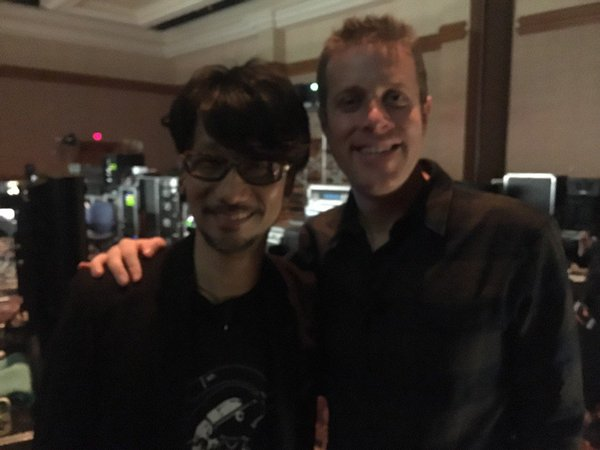 Hideo Kojima and Geoff Keighley