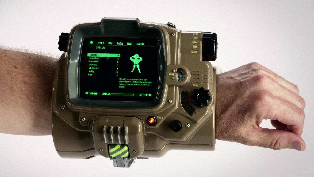 Fallout 4 Has a Working, Real Life Pip-Boy!