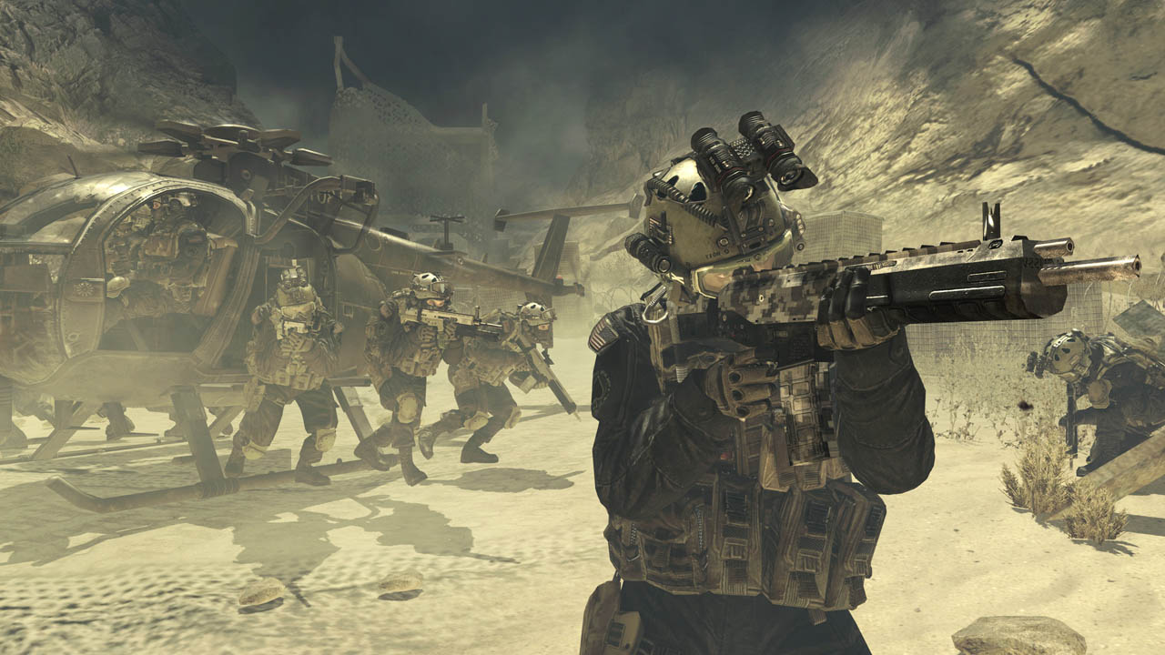 1. Call of Duty: Modern Warfare 2