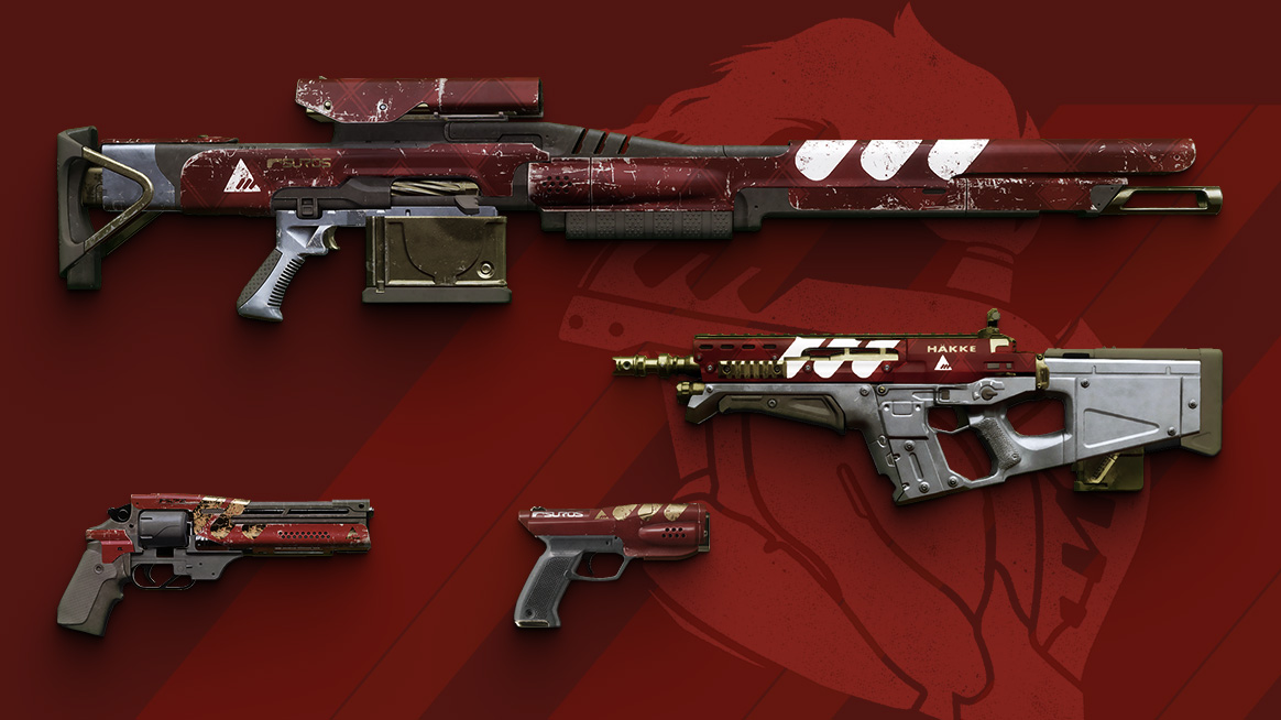 New Monarchy Package Weapons