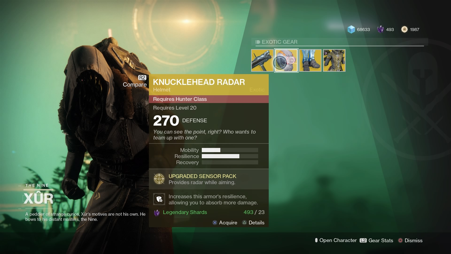 Destiny 2 Xur Location and Inventory Guide for October 13 ...