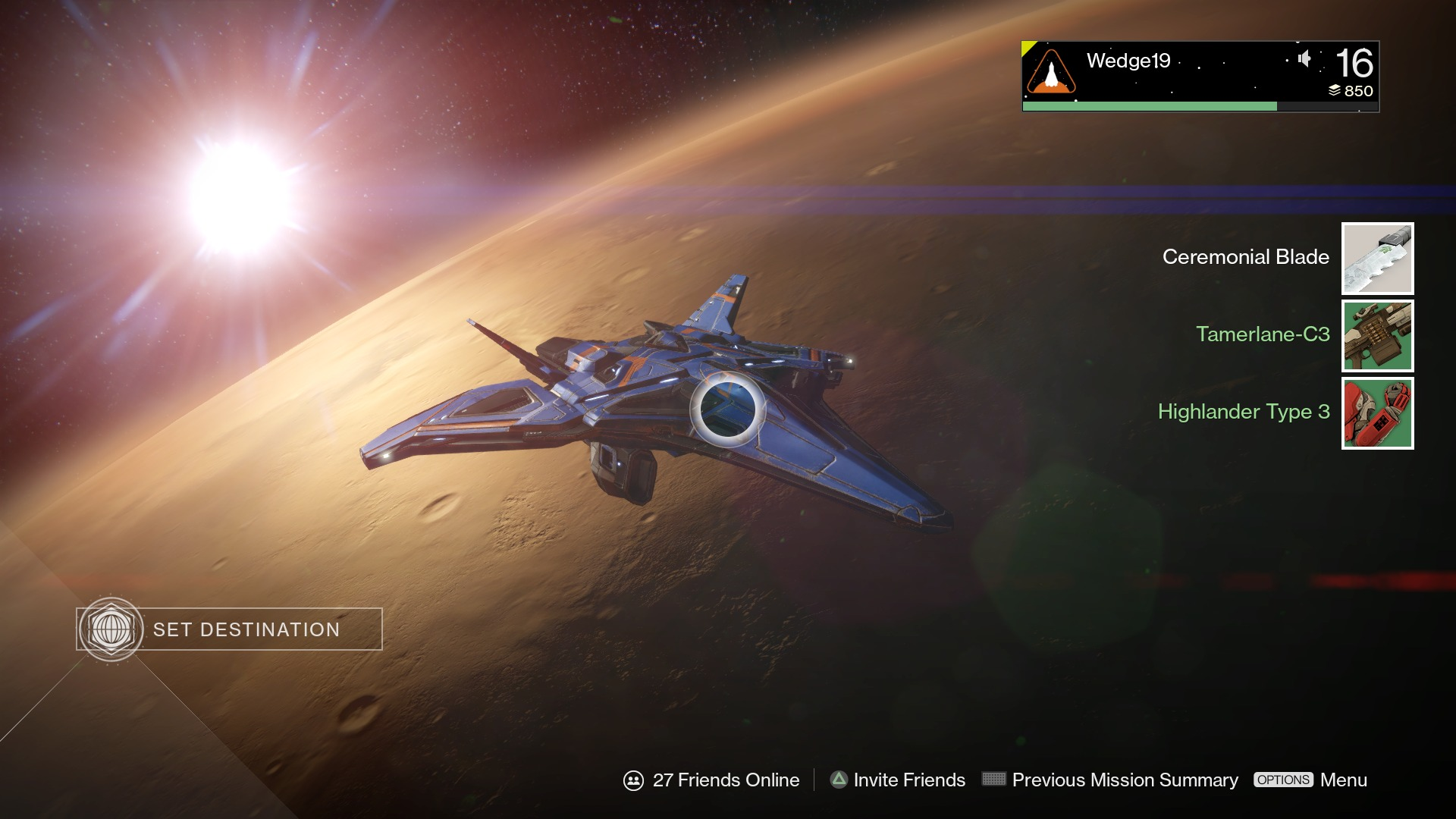 Destiny Update 1.03 on PS4, PS3 Out, Fixes Centipede Error