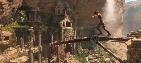 Rise of the Tomb Raider Is Three Times Larger Than Last Game