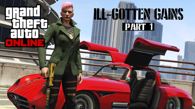 Grand Theft Auto V Ill-Gotten Gains Part 1