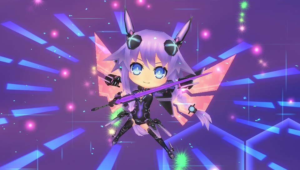 Hyperdevotion Noire: Goddess Black Heart - Screenshot 1