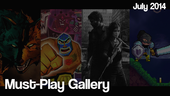 July 2014 Must-Play Gallery