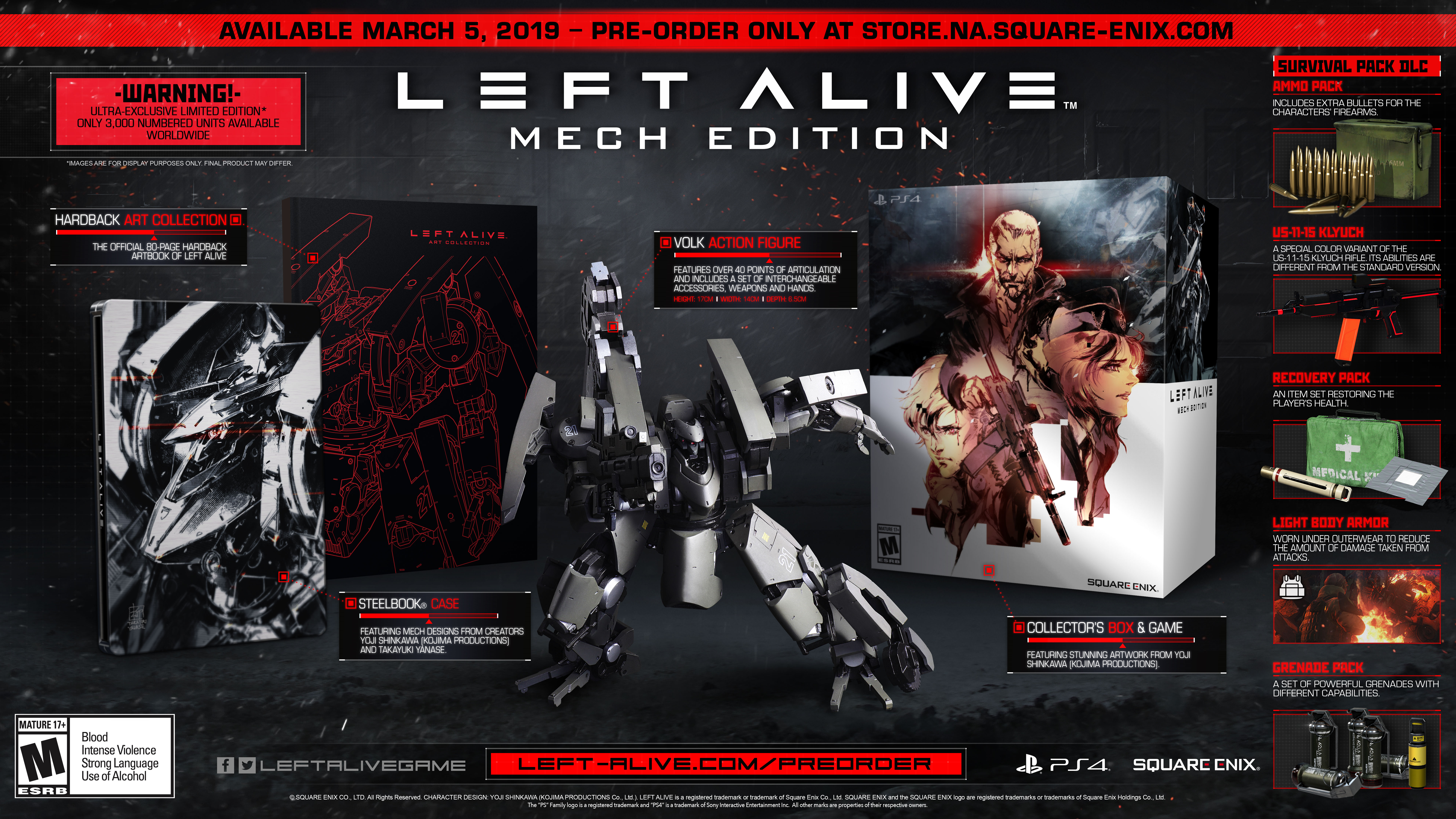 Left Alive Mech Edition