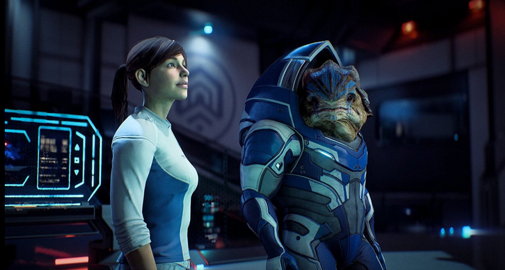 Mass Effect Andromeda Update 110 Is Over 900mb Game Ps4 Pro And 4k Introducing Points