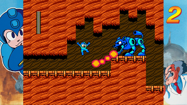 Mega Man Legacy Collection Border (Full)