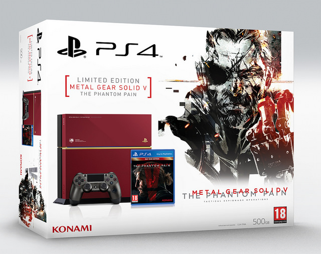 Metal Gear Solid V PS4 Console