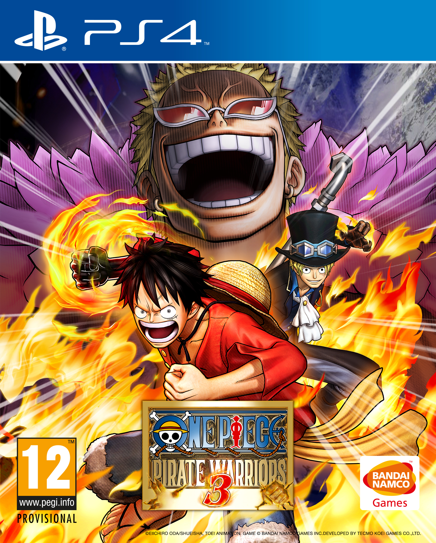 one piece pirate warriors 3 coming out next year. Black Bedroom Furniture Sets. Home Design Ideas