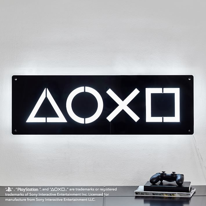 PBteen PlayStation Collection Icon Wall Light
