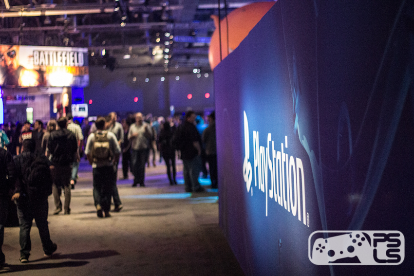 PlayStation Experience Show Floor
