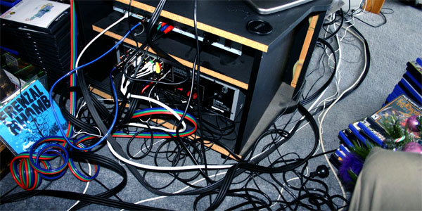 Untangle and Fix Your Consoles' and Media Center's Cables