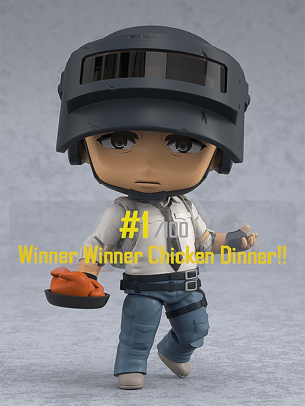 PUBG The Lone Survivor Nendoroid