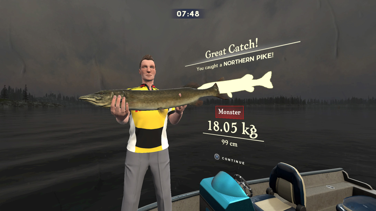 Rapala fishing pro series review all about that bass for Rapala fishing pro series ps4
