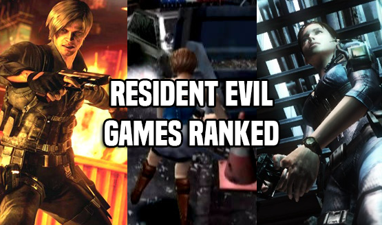 Resident Evil Games Ranked