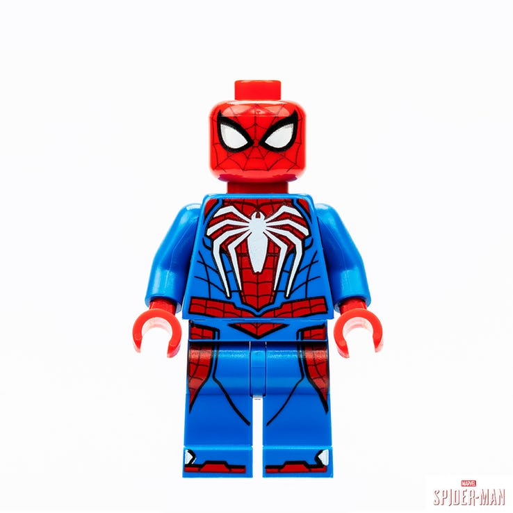 SDCC 2019 Marvel's Spider-Man LEGO minifig
