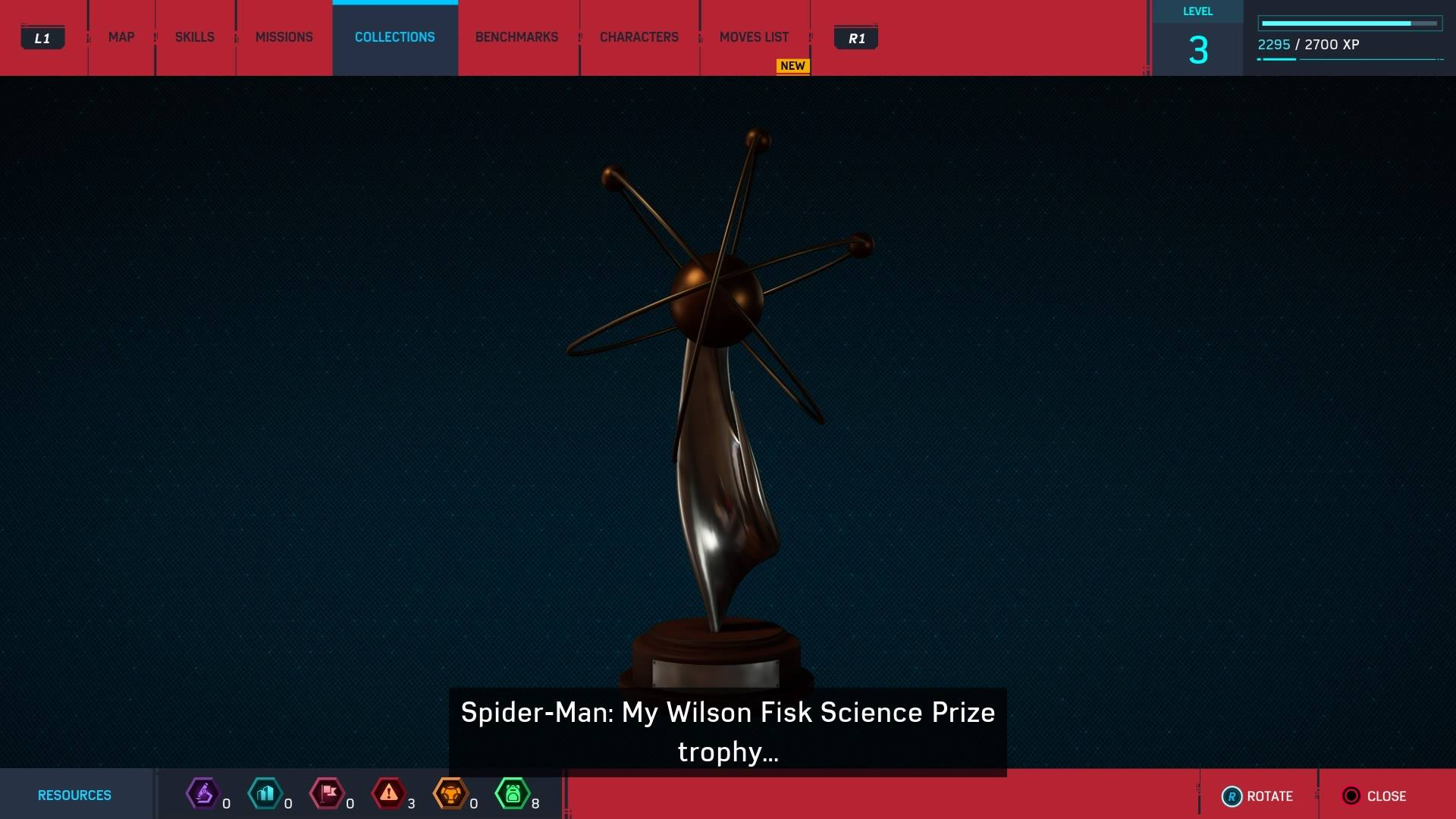 1. Science Trophy