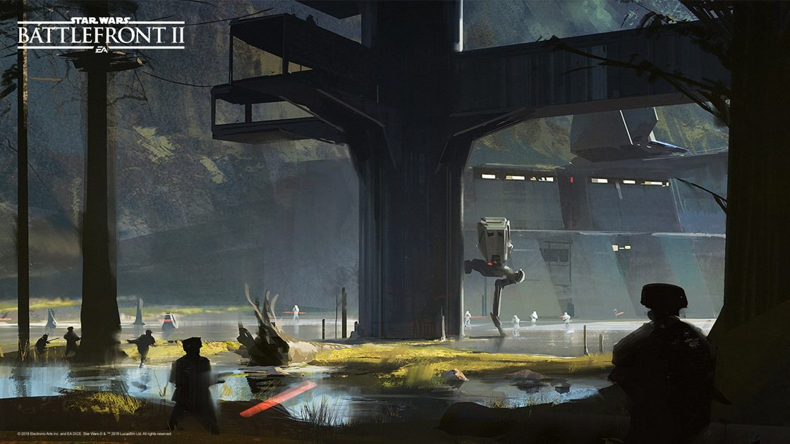Star Wars Battlefront 2 Concept Art