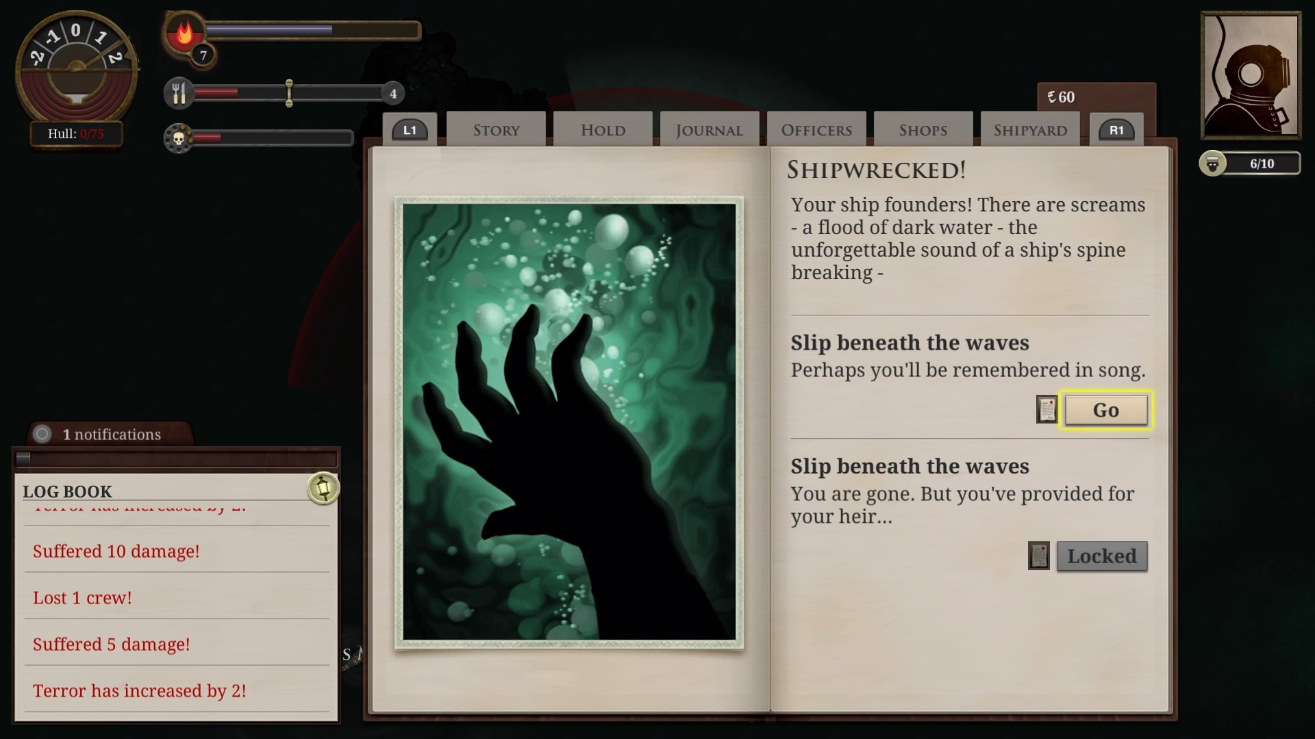 Sunless Sea Makes Its Console Debut On The Ps4 Perezstart Circuit Breakers By Triverske Kickstarter Will You Be Diving Into This Bizarre Exploration When It Comes To Later Year
