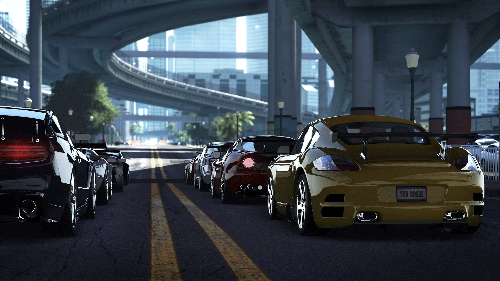The Crew - Cars Lineup