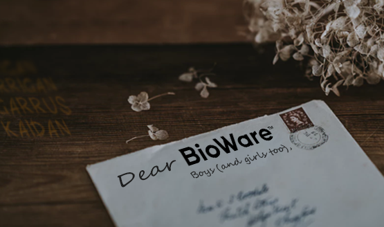 To All the BioWare Boys I've Loved Before - A Series of Letters to My BioWare Romances