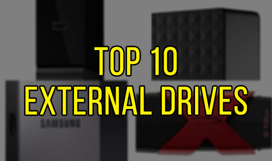 Top 10 External Drives