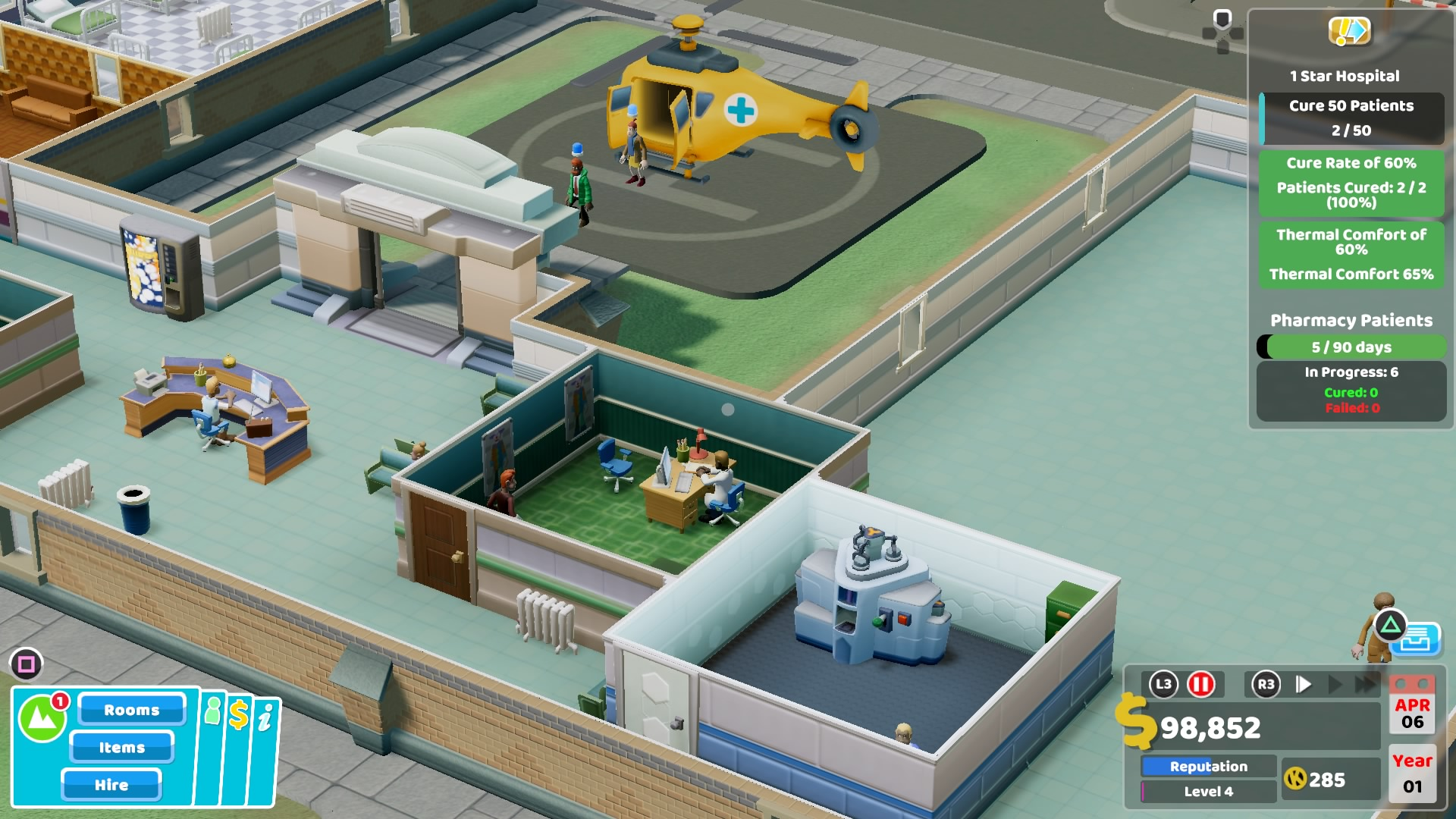 Two Point Hospital PS4 Review
