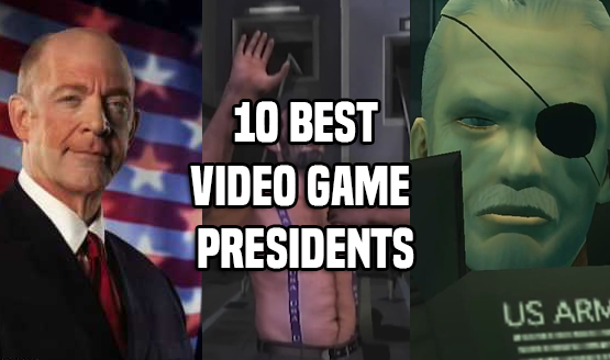 10 Best Video Game Presidents
