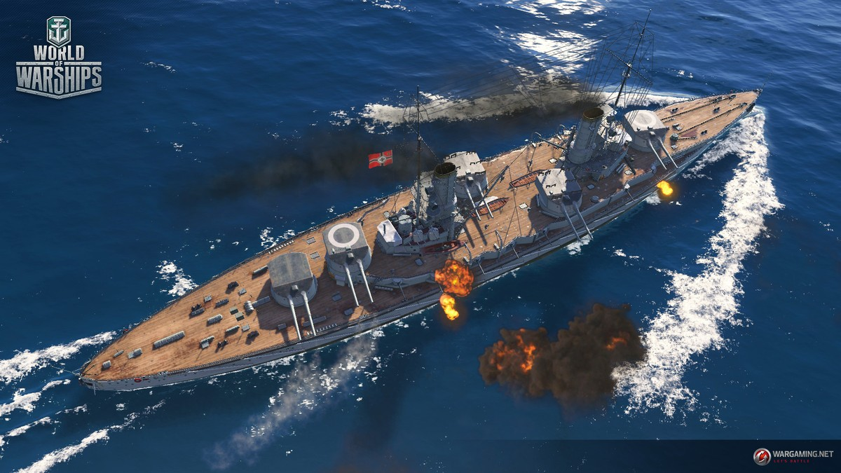 World of Warships Legends Docks on the PlayStation 4