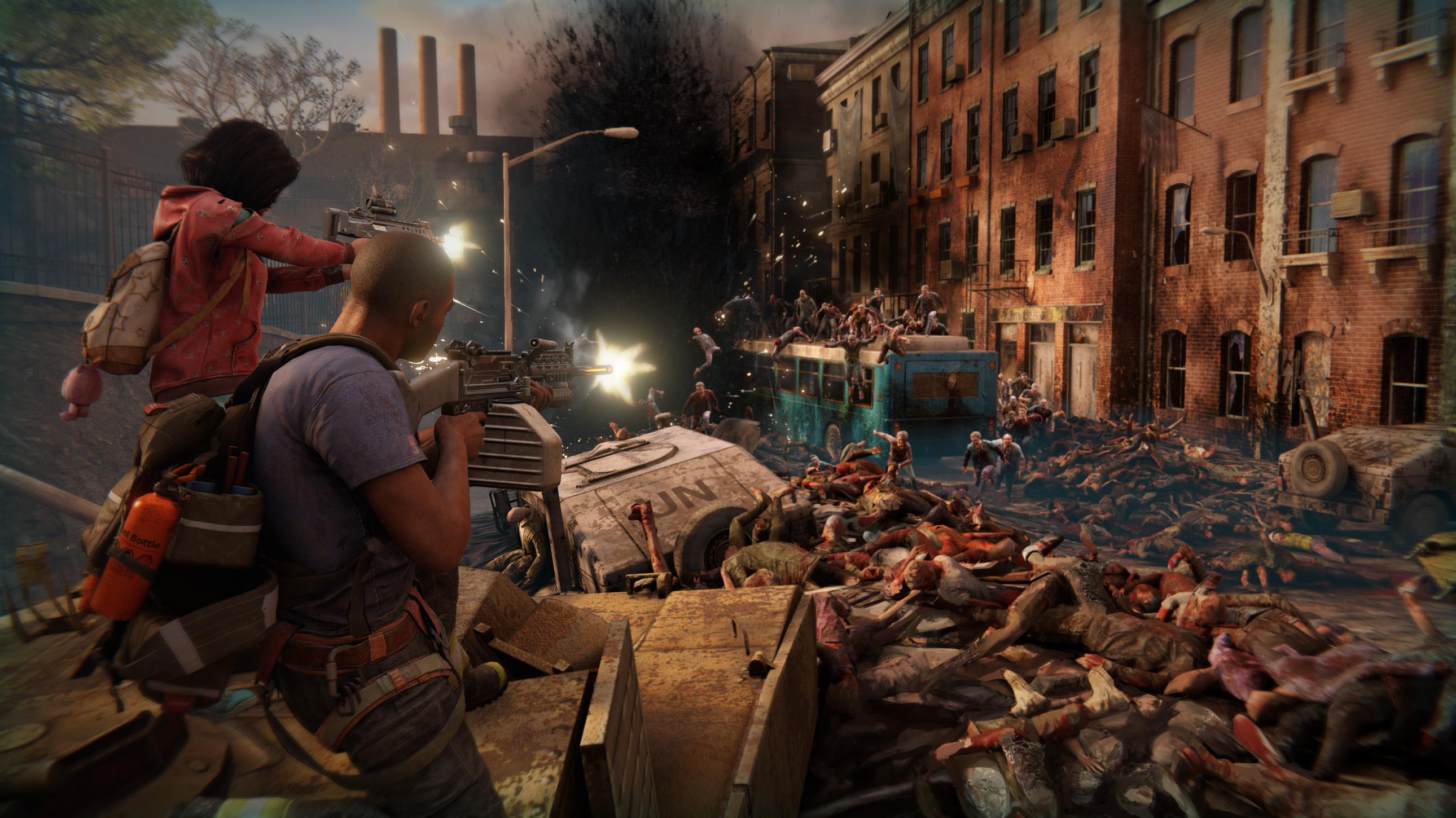 Try to Outlive the Living and Dead in World War Z's Chaotic